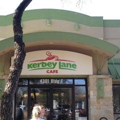 Photo taken at Kerbey Lane Cafe by Haley P. on 2/23/2013