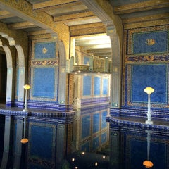 Photo taken at Hearst Castle Roman Pool by Michelle A. on 4/9/2014