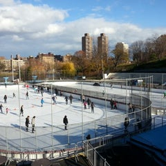 Photo taken at Lasker Pool & Ice Rink by Jennifer L. on 11/24/2012