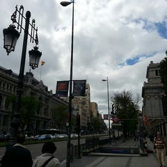 Photo taken at Metro Banco de España by Sergey B. on 4/26/2014