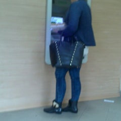 Photo taken at Bank BZWBK by Karolina Z. on 5/3/2013