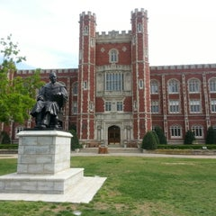 Photo taken at University of Oklahoma by Calvin C. on 5/6/2013