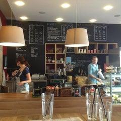 Photo taken at Boréal Coffee Shop by Lidia R. on 8/31/2013