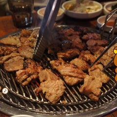 Photo taken at 포도식당 (ポド食堂) by simply LANG™ on 1/10/2015