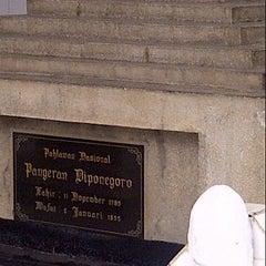 Photo taken at Makam Pangeran Diponegoro by Rita S. on 12/29/2013