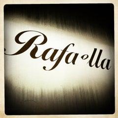 Photo taken at Rafaella Cafe by Gray S. on 2/23/2013