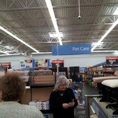 Photo taken at Walmart Supercenter by Philip P. on 3/23/2013