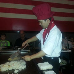 Photo taken at Banzai Hibachi Steakhouse by Andrea G. on 12/1/2014