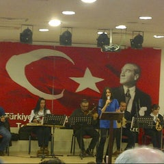 Photo taken at Eyup Musiki Cemiyeti by Yusuf K. on 3/27/2014