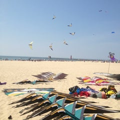 Photo taken at Grand Haven State Park by Ma Y. on 5/18/2013