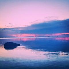 Photo taken at Sabai beach resort by Ian Blake N. on 4/8/2014