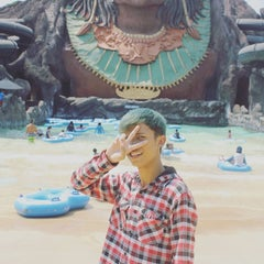 Photo taken at Pandawa Water World by L Pidjar Azizan A. on 10/11/2015
