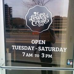 Photo taken at Leaf & Crumb by Ryan Mayor V. on 4/12/2014