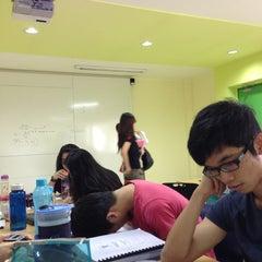 Photo taken at Taylor's College Subang Jaya by Matthew R. on 2/25/2013