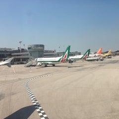 """Photo taken at Aeroporto Internazionale di Napoli Capodichino """"Ugo Niutta"""" (NAP) by Юлия on 6/16/2013"""