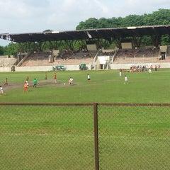 Photo taken at Stadion Bima by encep k. on 12/29/2013