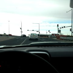 Photo taken at Stop Light At Lohman And Telshor by Ariane L. on 3/22/2013