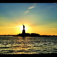 Photo taken at Statue of Liberty by Ana T. on 7/25/2013