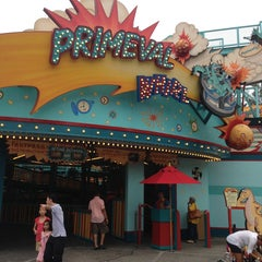 Photo taken at Primeval Whirl by Julio C. on 7/23/2013