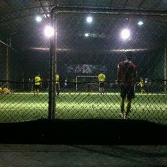 Photo taken at Futsal Galuh Mas by Anton I. on 6/18/2013
