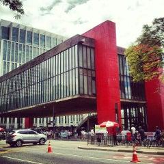 Photo taken at Museu de Arte de São Paulo (MASP) by Rafael A. on 2/17/2013