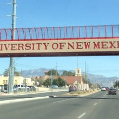 Photo taken at University of New Mexico by Rafael M. on 3/29/2013
