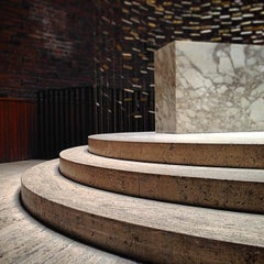 Photo taken at MIT Chapel (Building W15) by Christopher H. on 7/14/2014