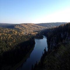 Photo taken at Усьвинские столбы by Карина П. on 9/27/2014