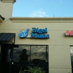 Photo taken at Bigel Music by Steve H. on 1/21/2014