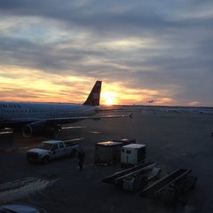 Photo taken at Gate F8 by Andria M. on 1/12/2014