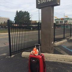 Photo taken at Detroit Amtrak Station (DET) by Lauren T. on 10/2/2015