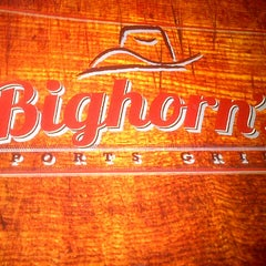 Photo taken at Bighorn's Sports Grill by Danny S. on 9/14/2012