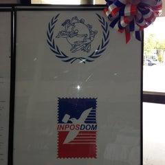Photo taken at Instituto Postal Dominicano (INPOSDOM) by Larissa R. on 6/12/2013