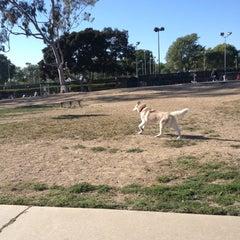 Photo taken at Costa Mesa Bark Park by Sophia C. on 4/17/2013