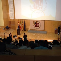 Photo taken at Aula Magna by Daniel G. on 4/3/2014