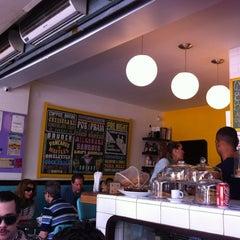 Photo taken at Gringo Café by Eduardo K. on 9/30/2012