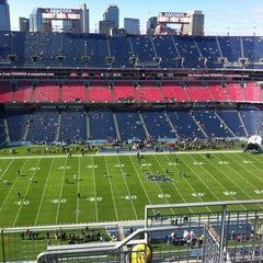 Photo taken at Nissan Stadium by Stefan N. on 10/28/2012