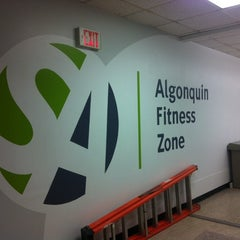 Photo taken at Algonquin College Fitness Zone by Donna J. on 12/5/2013