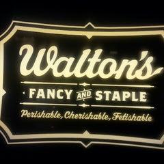 Photo taken at Walton's Fancy and Staple by Joana T. on 3/23/2013