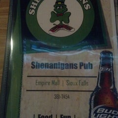 Photo taken at Shenanigans Pub by Andrew R. on 3/5/2013