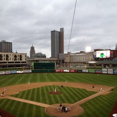 Photo taken at Parkview Field by John N. on 4/19/2013