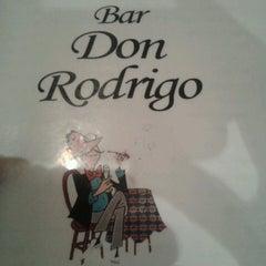 Photo taken at Bar Don Rodrigo by Felipe M. on 5/24/2013
