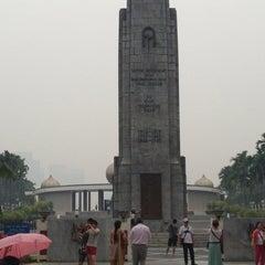 Photo taken at National Monument (Tugu Negara) by tarmimi90 on 6/25/2013