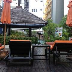 Photo taken at Sunbeam Pattaya Spa & Wellness Hotel by Chernoff on 8/28/2013