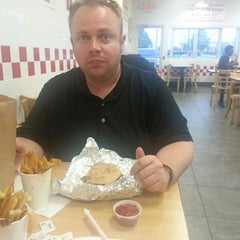 Photo taken at Five Guys by James M. on 6/23/2014