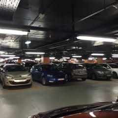 Photo taken at Aupark Shopping Center Garáž | Garage by Kubo M. on 11/24/2015