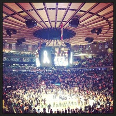Photo taken at Madison Square Garden by Jameson on 4/20/2013