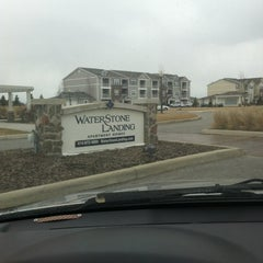 Photo taken at Waterstone Landing Apartments by Angelica C. on 3/13/2013
