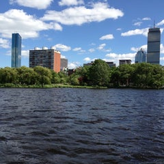 Photo taken at Charles River by shadia k. on 6/7/2013