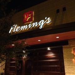 Photo taken at Fleming's Prime Steakhouse & Wine Bar by Shkelzen H. on 5/23/2014